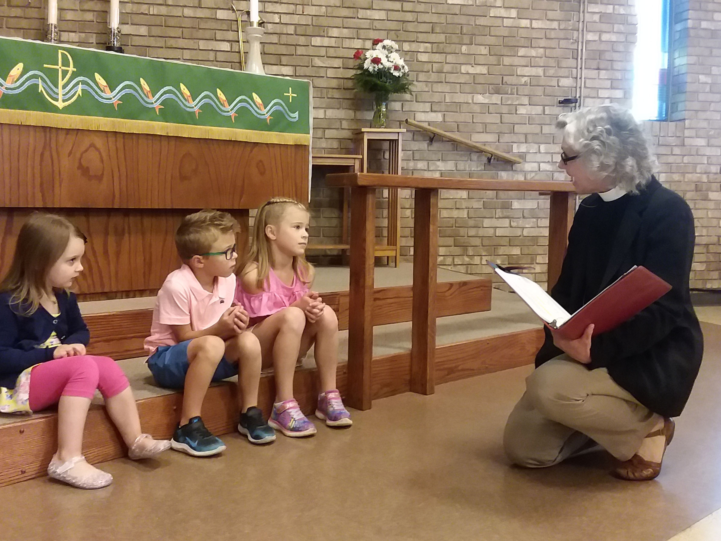 Children's Time at Our Lord's Lutheran Church