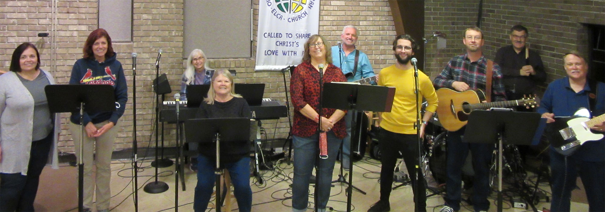 Praise Band at Our Lord's Lutheran Church