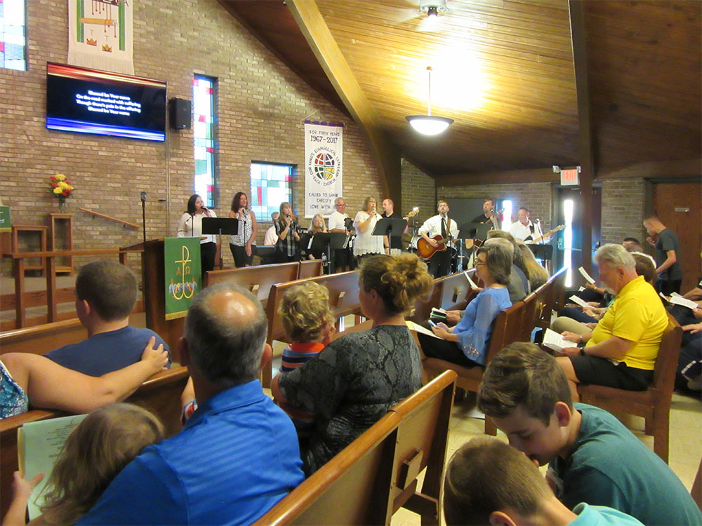 Praise Worship at Our Lord's Lutheran Church